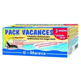 Traitement piscine pendant les vacances : PACK SPECIAL VACANCES - Mareva