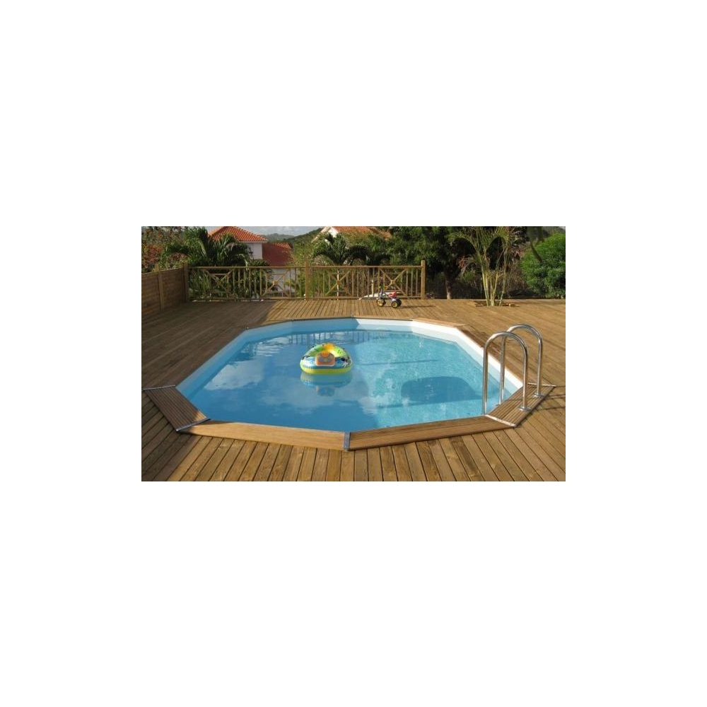 Piscine en kit hors sol photo piscine en kit hors sol pas for Piscine bois en kit