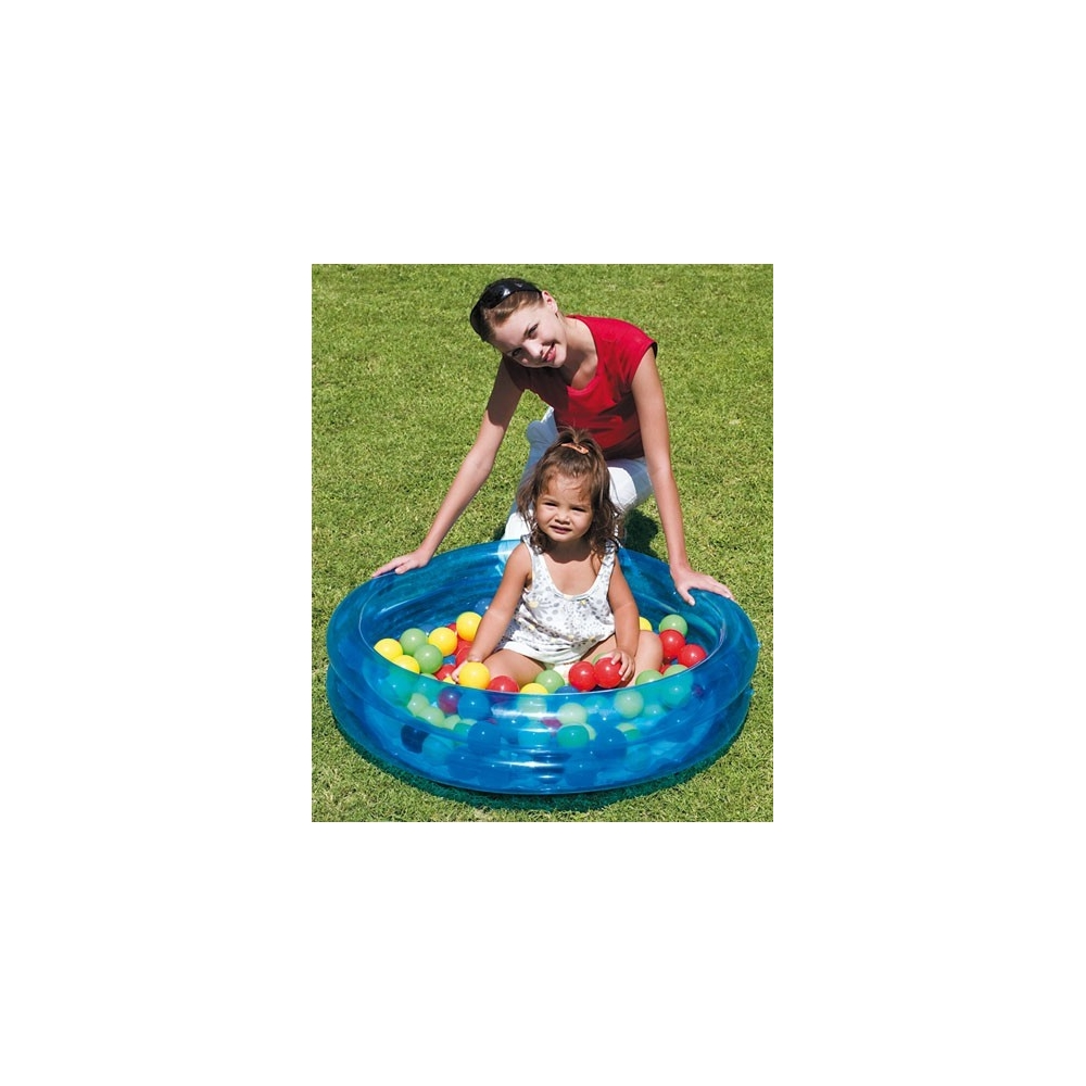 Piscine gonflable boules for Boules pour piscine