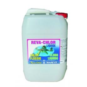 Traitement chlore reva klor choc 90 mareva for Chlore liquide piscine