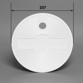 Couvercle de skimmer Aquaréva, les 2, couleur blanc