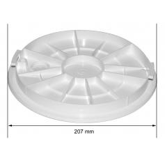 Couvercle /Skimmer hors sol SL101-HS, les 2, blanc
