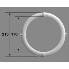 Face avant, vis/Projecteur PL96, blanc