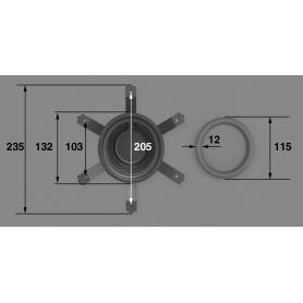 Joint torique de lampe de projecteur (NM) Pool's