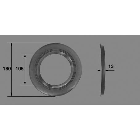 Joint soufflet de lampe de projecteur Pool's