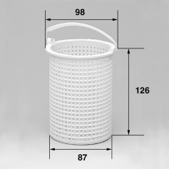 Panier de pompe compatible Hayward SP1500-SP1800