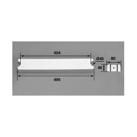 Marche 80-D40 ABS blanc / échelle Aquamatic, les 3