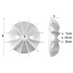 Ventilateur de moteur Hanning 2-3cv