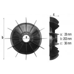 Ventilateur de pompe PSH 129 à 131 (Ø237mm)*
