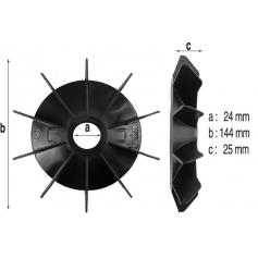 Ventilateur de moteur Badujet 21-80*