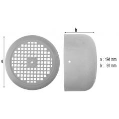 Capot de ventilateur de pompe PSH 127 (Ø194mm)*