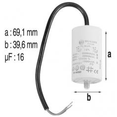 Condensateur 16mF de pompe Starite
