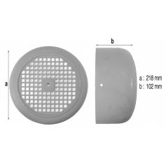 Capot de ventilateur de pompe PSH 128 (Ø220mm)*