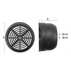 Capot de ventilateur de surpresseur Euro Com 4
