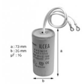Condensateur 16mF pompe bi-vitesse petite vitesse
