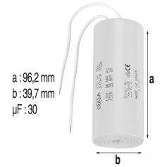 Condensateur 30mF de pompe Flipper-Tifon