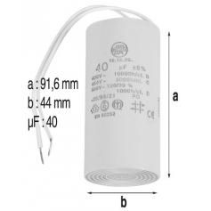 Condensateur 40mF de pompe Eurostar/Belstar