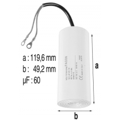 Condensateur 60mF de pompe Tifon 1 300