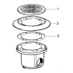 Vis de pièces à sceller Certikin les 25 (25X4.7mm)