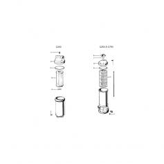 Dessus de vanne complet Hayward SP710 (1''1/2'')