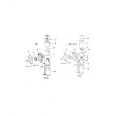 Bloc de filtration de filtre MTH IS12