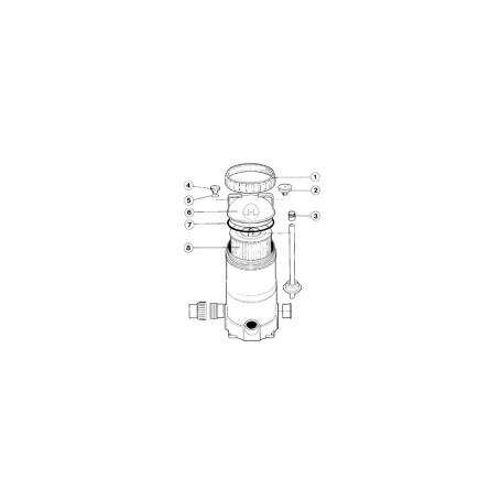filtre cartouche spaquip serie 2000 2075 2100 2150