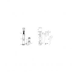 Ensemble transfo/fond/cordon de filtre Subapac