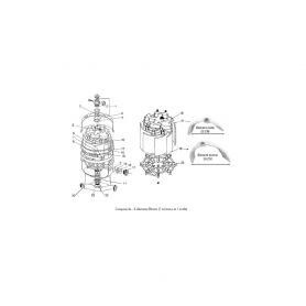 filtre diatomee nautilus fiberglass