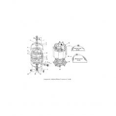 Joint d'adaptateur 6'' filtre Nautilus