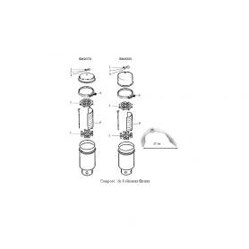 filtre diatomee purex sm2072 sm4024 sm4036 sm4048