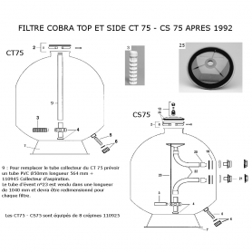 filtre sable cobra top side apres 1992