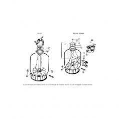 Joint de couvercle/vanne Hayward (185x4mm)