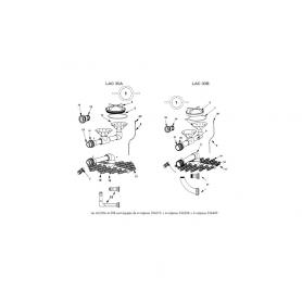 Kit de liaison vanne/filtre Lacron 30B (2'')