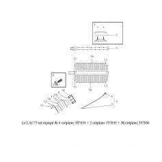Bouchon de diffuseur/collecteur Lacron 75