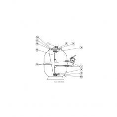 Kit de joints TP 1''1/2 de filtre Mamba