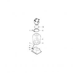 Tube de collecteur de filtre Pantera P17 (54,5cm)