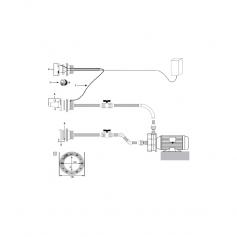 Grille de refoulement 2'' RL319-RB318, les 2, blanc