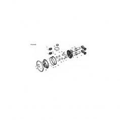 Vis de fixation de poignée Jet Swim 2000 (5x20mm)* - lot de 3