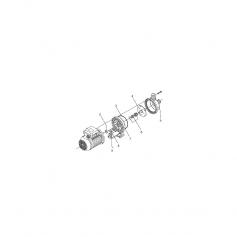 Logement d'amortisseur de moteur pompe Eurostar