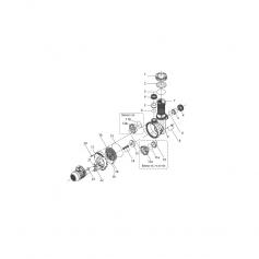 Anneau de centrage de pompe Eurostar 50 à 100