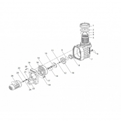 Turbine pressée diam 120mm Eurostar 150 (1cv)