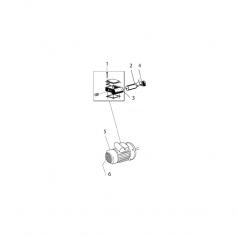 Boîte à bornes complète de pompe Eurostar 150M*