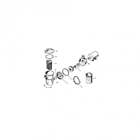 pompe hayward power flo sp1575 sp1775