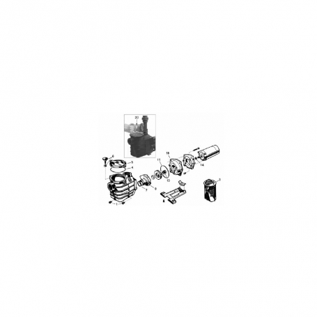 pompe hayward super pump 2 sp3020 sp3030