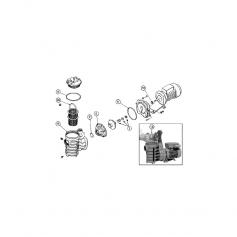 Joint de diffuseur de pompe ITT Marlow J50