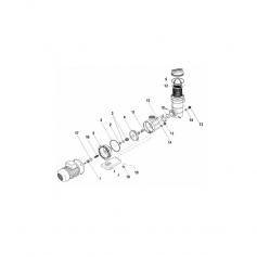 Joint préfiltre pompe Speck FA 42/11 (45x5.5mm)*