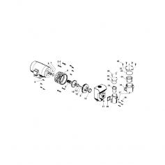 Vis de fixation de moteur de pompe StariteDHG-DHH