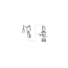 Turbine + circlips de pompe vide cave Nova 300