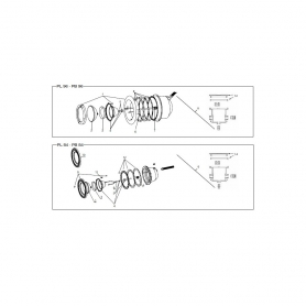Joint de corps de lampe/Projecteur Aquaréva,les 2