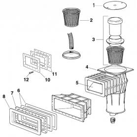 Télescope de skimmer Certikin